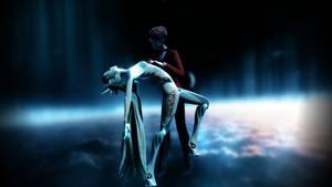 [MMD] The Vampire And The Robot [Tragic Love] by Rakki-Star
