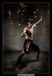 Kungfu Fighter by christophertan