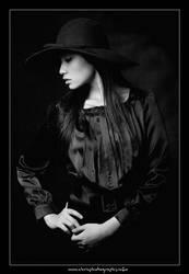 Lady in Black by christophertan