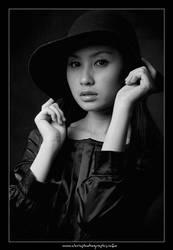 Lady in Black IV by christophertan