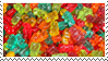 Gummy bears stamp by Shielita