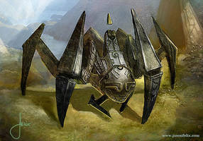 Hedron Walker -Magic The Gathering by jason-felix
