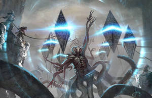 MTG-Battle For Zendikar- Eldrazi Destroyed by jason-felix