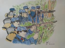 WW1, Battle of the Marne 1914 by Gozac1198