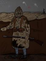 'French Sniper' (2) (WW1) by Gozac1198