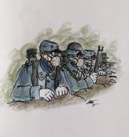 WW1 A New War 1915 by Gozac1198