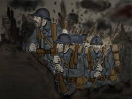 WW1 Verdun 1916 by Gozac1198