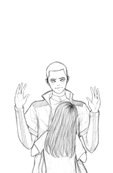 [Sketch] I just wanna... by Okami--sama