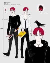[WIP] My love... Crow by Okami--sama