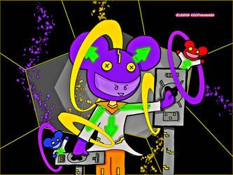 Deadmau5 Vibrant Mania by chelano