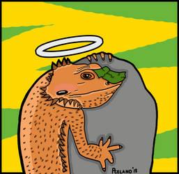 Juno The Bearded Dragon by chelano