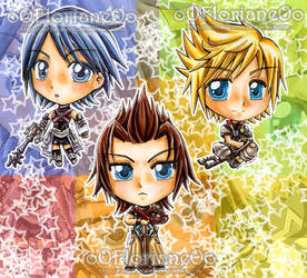 Extra-SD-Project Kingdom Hearts Birth by Sleep by oOFlorianeOo