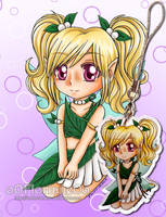 2018 Charm - Original Character - Myrtille by oOFlorianeOo