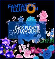 PACK FLOWER by gabygomita