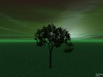 Green Tree by invadertim3