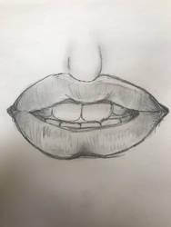 Lips by aufhockerbiss