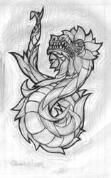 Quetzalcoatl by Jinshi0k