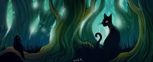 lost in darkest forest by Kordelia