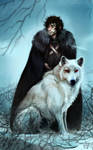 Jon Snow by znodden