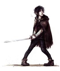 Arya Stark by znodden