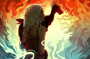 Daenerys Stormborn by znodden
