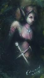 Elven shadow by kungfoowiz