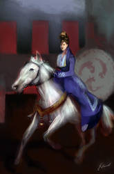 Xiang Dynasty Princess by kungfoowiz