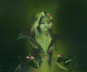 The Botanist by kungfoowiz