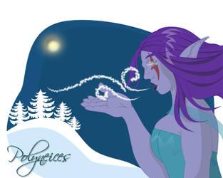 WoW Night Elf by Acraea