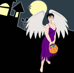 Seraphin the Dark Angel by Acraea