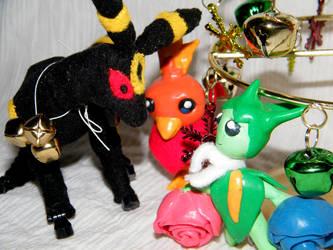 Pokemon Christmas by ladyarah