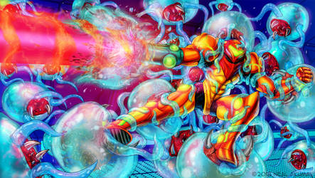 Metroid by Neal-Akuma