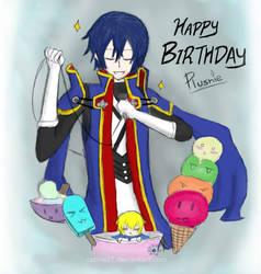 HAPPY BIRTHDAY :3 by catine27