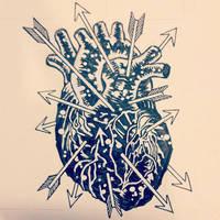 Blackened Heart by mikefasano