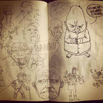 Faces n Stuff by mikefasano