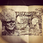 DEEP SPACE HORROR by mikefasano