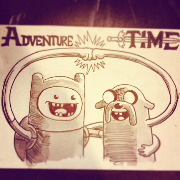 Adventure Time! by mikefasano