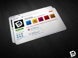 My Google+ Business Card Mockup by Chadski51