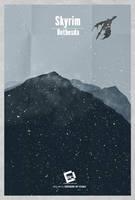 Skyrim Minimal Poster by Chadski51