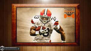 Trent Richardson Browns HD Wallpaper by Chadski51