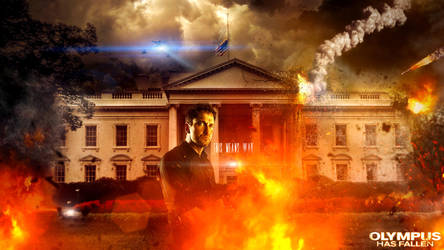 Olympus Has Fallen Offical Art Contest by Chadski51