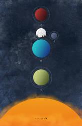 Destiny Minimalist Poster by Chadski51