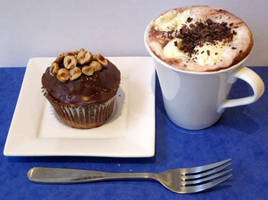 Hot Chocolate Cupcake by Applinna