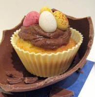 Easter Treat Cupcake by Applinna