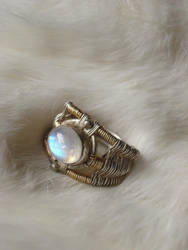 wire-wrap viking ring by The-Orchid-Snatcher
