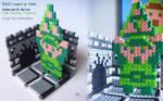 [NES] Legend of Zelda - Link w/ Triforce   craft by nintentofu