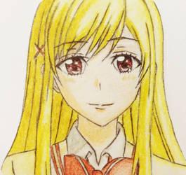 URARA SHIRAISHI (Yamada-kun to 7-nin no Majo) by PrianistSart