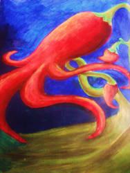 Aquatic Chili Pepper by elphabanessarose
