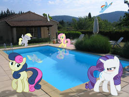 A Day at the Pool by DestructoDash