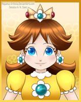 Fanart - Princess Daisy by Pequena-Artista